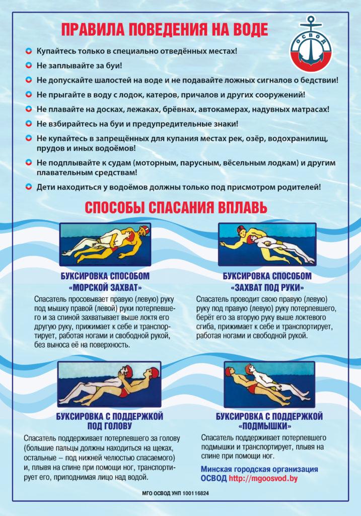 осторожно на воде